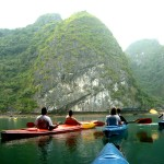 kayaking Monkey Island Resort
