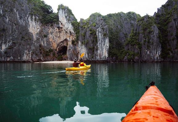 Cheo Kayak Vinh Lan Ha